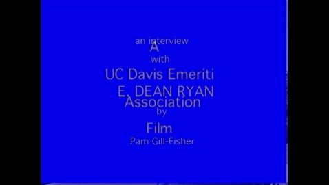 Thumbnail for entry E. Ryan