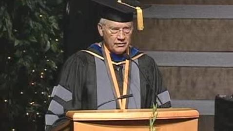 Thumbnail for entry 2009 - Calaveras Cunningham, Abel Gonzalez Speak at the UC Davis School of Veterinary Medicine Commencement