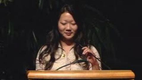 Thumbnail for entry 2008 Fall Convocation - Gabriella Wong 09/24/2008