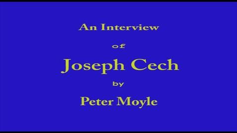 Thumbnail for entry Joseph Cech