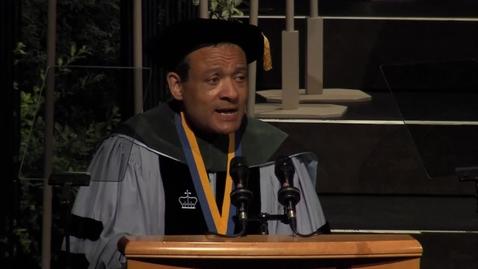 Thumbnail for entry 2017 School of Medicine Speaker - Leon Jones