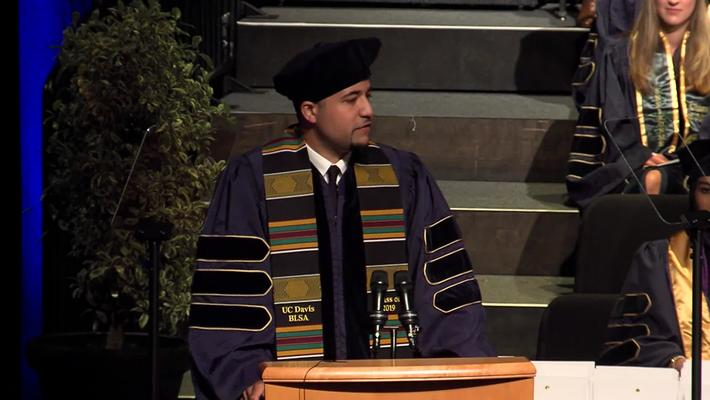 2019 Law School Student Speaker - Reza Harris - May 18, 2019