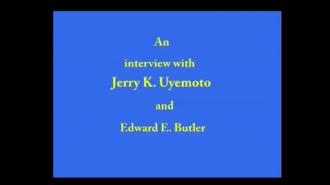 Thumbnail for entry Jerry Uyemoto