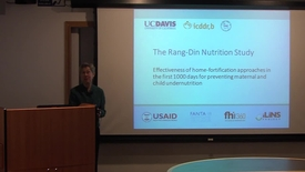 Thumbnail for entry The Rang-Din Nutrition Study: Effectiveness of home-fortification approaches in the first 1000 days for preventing maternal and child undernutrition