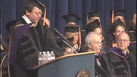 Thumbnail for entry 2009 - Darrell Steinberg Speaks at the UC Davis School of Law Commencement
