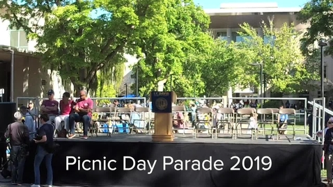 Thumbnail for entry Picnic Day Parade 2019 - Live Stream Replay