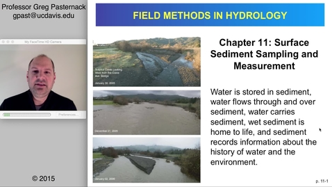 Thumbnail for entry HYD151: Surface Sediment Sampling and Measurement, part 1