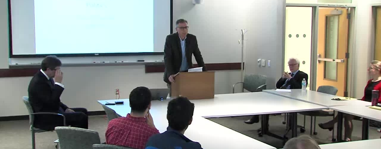 Levine Family Fund Lecture - Barry Eichengreen - April 18, 2017