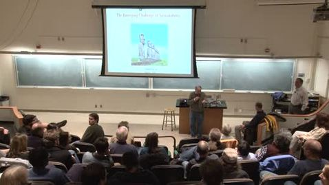 Thumbnail for entry PHYS 150 Distinguished Lecture Series: Simon Levin 2-2-12
