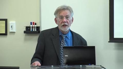 Thumbnail for entry Edward Haertel  (03-09-2016) - UC Davis School of Education Distinguished Thinker Speaker Series