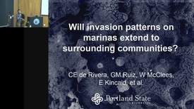 Thumbnail for entry BML - Cat de Rivera: Will invasion patterns on marinas extend to surrounding communities?