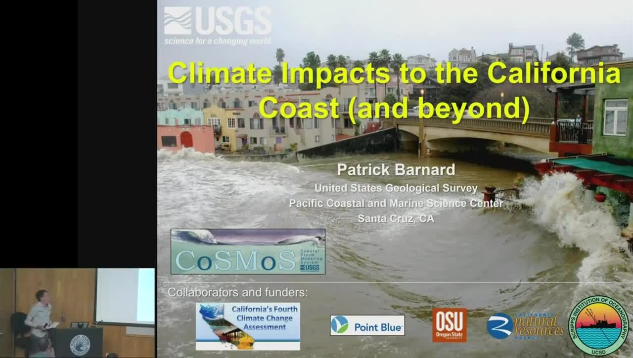 BML - Patrick Barnard: Climate Impacts to the California Coast (and beyond)