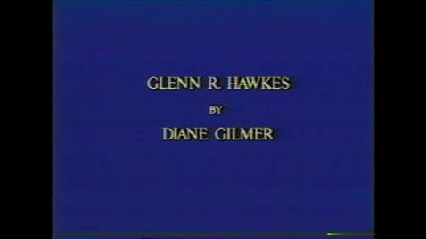 Thumbnail for entry Glenn Hawkes