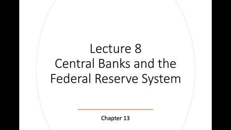Thumbnail for entry ECN 135: Lecture 8, Part 1