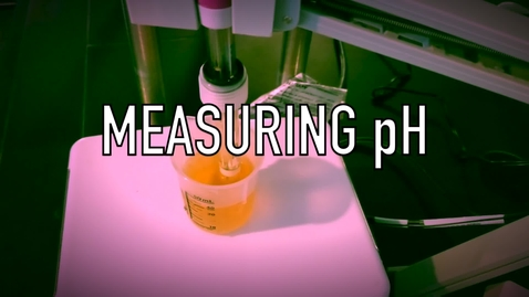 Thumbnail for entry VEN123L Video 3.1 - Measuring pH