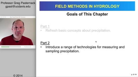 Thumbnail for entry HYD151: Rain Measurement and Sampling, part 2