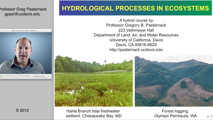 HYD143: Chapter 1- Introduction to Hydrology and Ecology, Part 1