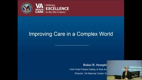 """Thumbnail for entry """"Health Care in a Complex Environment"""""""