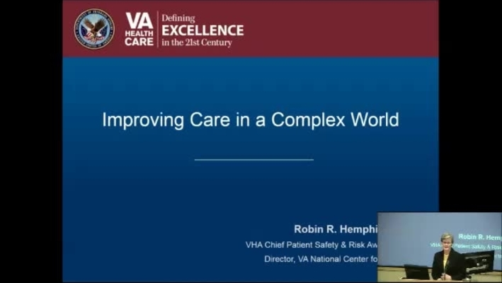 """Health Care in a Complex Environment"""