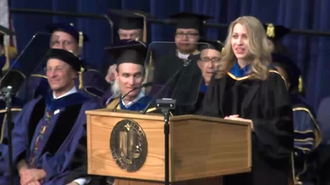 Thumbnail for entry 2015 Graduate Studies Commencement Speaker: Christine Gulbranson