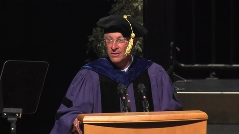 Thumbnail for entry 2016 School of Education - Chancellor's Address - Ralph Hexter