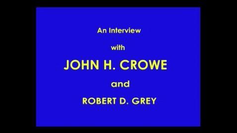 Thumbnail for entry John Crowe