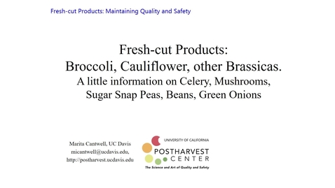 Thumbnail for entry Broccoli, Cauliflower and Celery - (Cantwell)