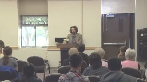 Thumbnail for entry UWP Conversations with Writers Series 2012-13: Eric Klinenberg 02-23-12