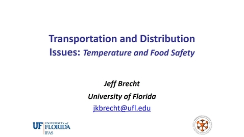 Thumbnail for entry Transportation and Distribution Issues - (Brecht)