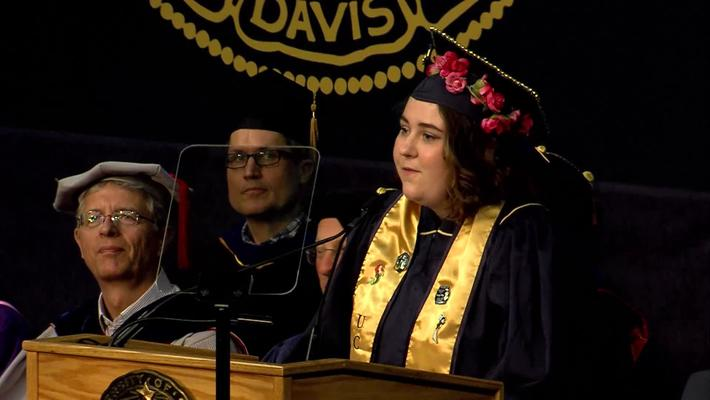 2019 Letters and Science Student Speaker - Elizabeth Cox - June 15, 2019
