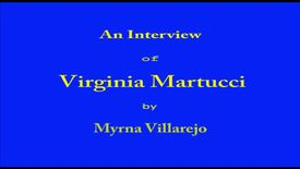 Thumbnail for entry Virginia Martucci
