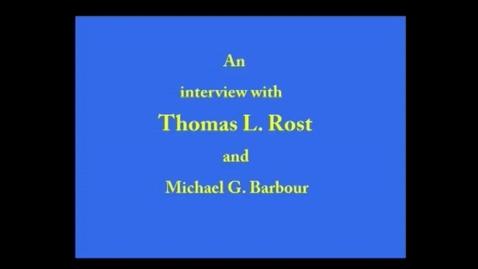 Thumbnail for entry Thomas Rost