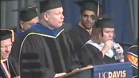 Thumbnail for entry 2009 - Astronaut Steve Robinson Speaks at the UC Davis College of Engineering Commencement