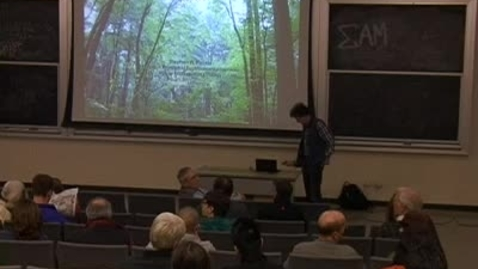 Thumbnail for entry Storer Lecture - Steve Pacala 11-17-2011