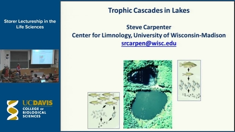 Thumbnail for entry Storer Lecture - Stephen Carpenter 3-6-14