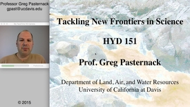 Thumbnail for entry HYD151: Tackling New Frontiers in Science