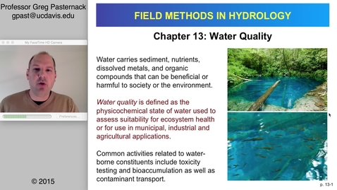 Thumbnail for entry HYD151: Water Quality, part 1