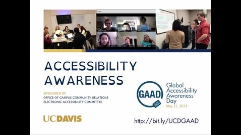 Thumbnail for entry GAAD 2015 Captioning Presentation