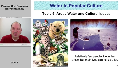 Thumbnail for entry SAS004: Arctic Water and Cultural Issues