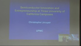 Thumbnail for entry Provost's Forum: Christophe Lecuyer and David Hodges