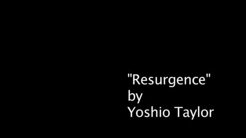Thumbnail for entry Yoshio Taylor - Vision  09-16-2010