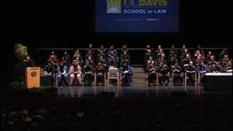 Thumbnail for entry 2011 Law School Commencement Speaker - Tani Cantil-Sakauye 05-13-2011