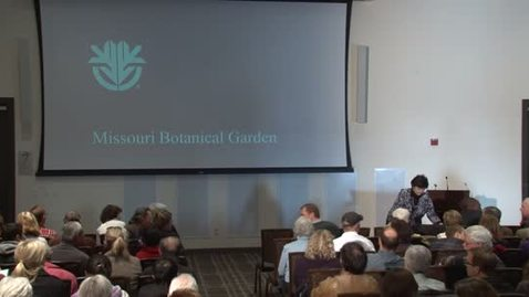 Thumbnail for entry Storer Lecture Series - Peter Raven 1-18-2012