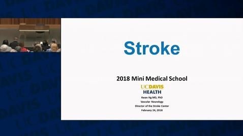 Thumbnail for entry Mini Medical School 2018 Week 4: 2018-02-24
