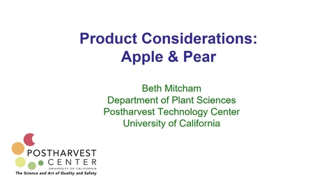 Thumbnail for entry  Apple and Pear - (Mitcham)