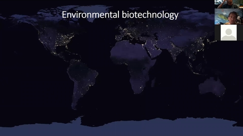 Thumbnail for entry Environmental biotechnology and energy