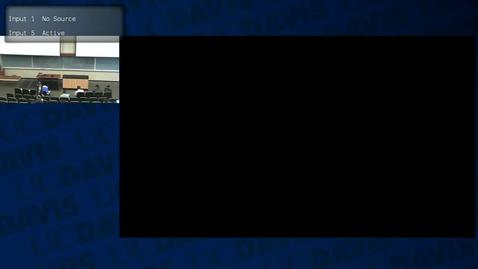 Thumbnail for entry ECS30: 2016-03-04 10:00