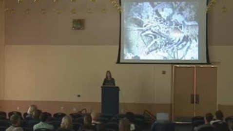 Thumbnail for entry Storer Lecture - Mimi Koehl 10-24-2006