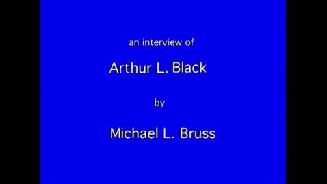 Thumbnail for entry Arthur Black