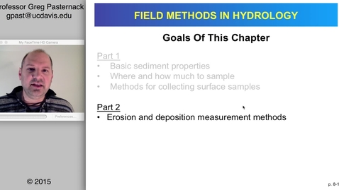Thumbnail for entry HYD151: Surface Sediment Sampling and Measurement, part 2